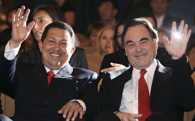 Image result for chavez oliver stone cannes