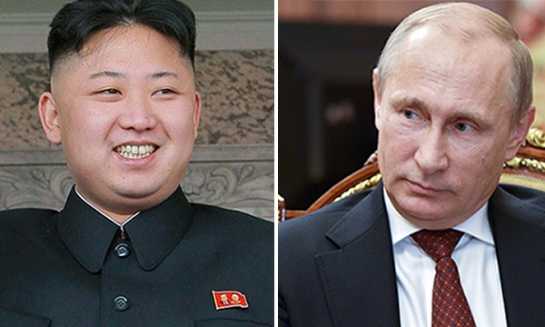 Image result for putin kim