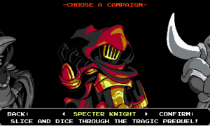 Shovel Knight: Specter of Torment para Wii U, 3DS y Xbox One sigue sin fecha