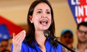 María Corina Machado: Hay que tomar decisiones y construir una amenaza real e inminente