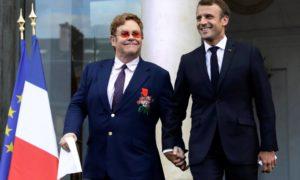 Elton John, nuevo caballero de la Legión de Honor francesa