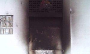 Sosa: Sede de Estudios Políticos de la UCV amaneció quemada