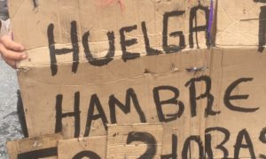 Se registran protestas en Caracas durante visita de Michelle Bachelet
