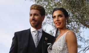 Sergio Ramos y Pilar Rubio se casaron en la Catedral de Sevilla