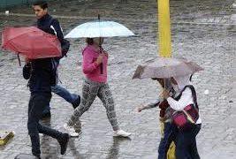 Inameh prevé precipitaciones con intensidad variable para este jueves