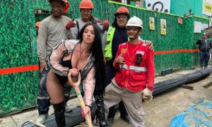 Diosa Canales enciende las calles de Perú y las redes se encienden