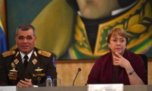 Bachelet se reúne con altos cargos chavistas antes de encontrarse con familias de presos políticos