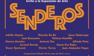 """13 Artistas Plásticos inauguran """"Senderos""""el 22 de junio en laAsociación Cultural Humboldt"""