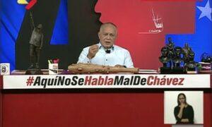 Cabello aseguró que EE.UU. fracasó en su presunto intento de poner de acuerdo a la oposición venezolana