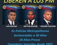 Laura de Molina: Solo una orden de Miraflores pondrá en la libertad a los tres PM que quedan presos en Ramo Verde