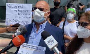 Diputados Dávila y Hernández exigieron ante la ONU cooperación internacional para traer vacunas a Venezuela