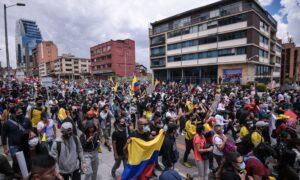 Marchas en Medellín se mantuvieron a pesar de petición del Comité del Paro