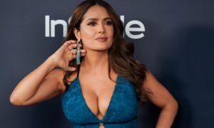 Salma Hayek toma el mando en Hitman's Wife's Bodyguard