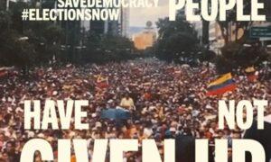 """""""Save Democracy"""": Venezolanos en el exterior lanzan campaña internacional para promover elecciones libres, justas y transparentes en Venezuela (Video)"""