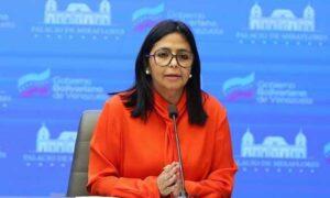 Delcy Rodríguez: 5.000 liceos fueron habilitados para poner vacunas contra el covid-19