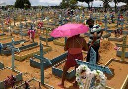 Brasil registra 187 nuevas muertes por covid y llega a 605.644 en total