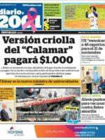 Portadas de los diarios del miércoles 20/10/2021